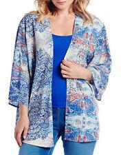 Paisley Machine Washable Plus Size Coats & Jackets for Women