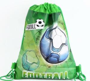 Children Kids Football Drawstring Bag Swimming School PE Boy Girl Gym Toy Bag