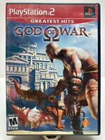 *CLASSIC* PlayStation 2 PS2 God of War COMPLETE! -FREE 1st Class Shipping!-