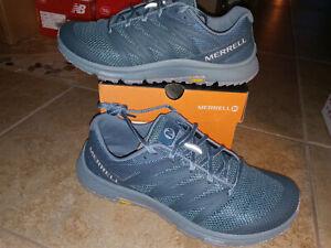 NEW $140 Mens Merrell Bare Access XTR Eco Trail Running Shoes, sz 10