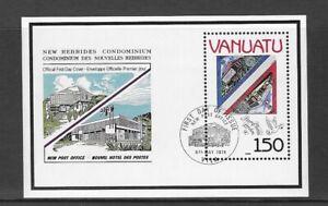 VANUATU 1990 MNH STAMP WORLD LONDON 90 INT'L STAMP EXPO MS 546