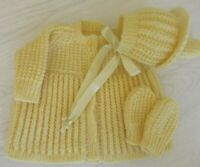 Ready to ship hand knitted bonnet sizes 0-4 years muted pink Waldorf baby shower gift baby toddler girl boy handknitted knits prop .