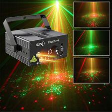 SUNY RG Laser Projektor Licht 5 Lens 80 Pattern DJ Stage Light Lamp Effekt
