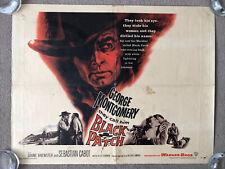 Black Patch (1957) Original US Half Sheet Cinema Poster