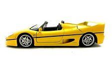 Maisto FERRARI F50 Diecast Car 1/18 scale Yellow  #471A