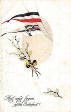 alte Litho - AK 1917 WK1 @ Feldpost Patriotika @Heil und Segen @ Ostern
