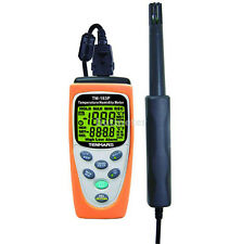 Tenmars TM-183 Temperature /Humidity Meter Stores up to 200 readings New