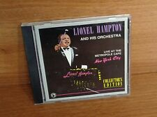 Lionel Hampton & His Orchestra : Live At The Metropole Cafe New York City : CD