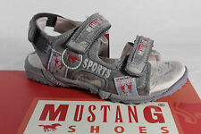 Mustang Boys Sandals Slippers Grey New