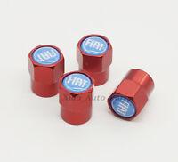 Auto Logo Dekoration Emblem Reifen Ventilkappen Stämme umfasst Zubehör für Fiat