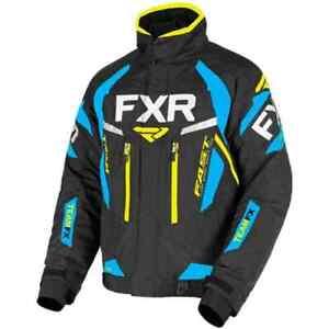 FXR Racing F19 Team FX Mens S, M, L, XL, 2X Snowmobile Jacket