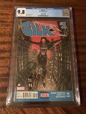 Silk #1 - CGC 9.8 - 2015 - Marvel - First solo Silk series - 2nd print