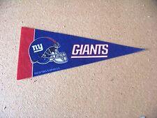 "NY New York Giants NFL mini pennant NFL football 8.9"" long"