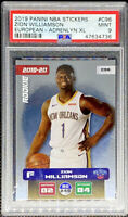 Zion Williamson 2019 Panini Stickers European Adrenalyn XL ROOKIE RC PSA 9 POP 5