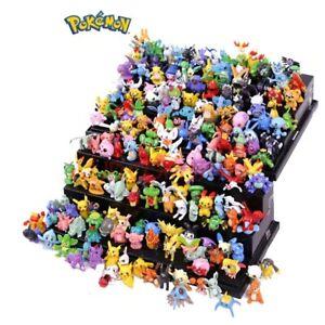 144 Pcs Pokemon Figures wholesale Random PVC toys gift Pokémon Pikachu
