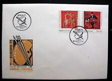 PORTUGAL FDC EUROPA 1975 LISBOA 26-MAIO 1975