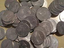 Accumulo lotto  di 70 monete da 1 lira 1951-1959