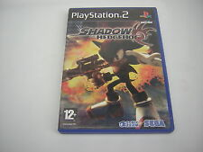 Playstation 2 Shadow the Hedgehog  PS2  sonic