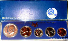 1967 Special Mint Set 5 Coins in Original Goverment Package