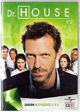 Dr HOUSE - Intégrale kiosque TF1 Video - Saison 1 - dvd 2 - Episodes 5 à 8