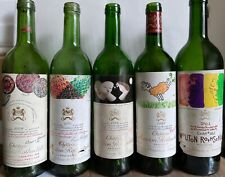 More details for 5x ch. mouton rothschild vertical - 1978, 1979, 1986, 1999, 2001