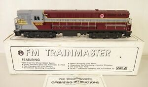 CUSTOM TRAINS #SA-1020 CANADIAN PACIFIC FM TRAINMASTER DIESEL-NEW IN OB!