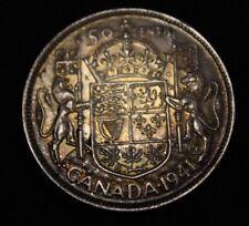 Canada 1941 50 cents silver