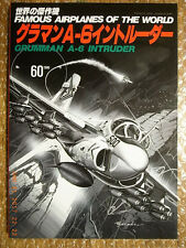 GRUMMAN A-6 INTRUDER, Pictorial Monograph, FAOW #60, BUNRINDO JAPAN