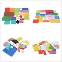 Handmade Wind Chimes Decor Kids DIY Materials Kit Creative EVA Paste Painting S