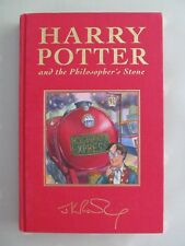 HARRY POTTER AND THE PHILOSOPHERS STONE DELUXE EDITION BLOOMSBURY 4TH IMPRESSION