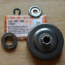 """Genuine Stihl Rim Sprocket Kit MS261 1141 007 1002 .325"""" 7T Tracked Post"""