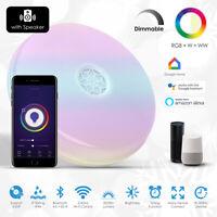 Wi-Fi Smart Ceiling Lamp w/ speaker, works w/ Amazon Alexa & Google Home