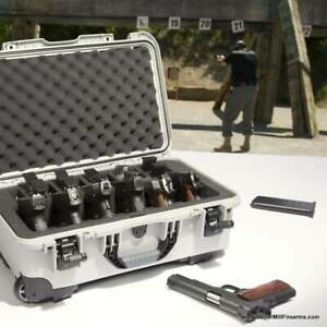 Nanuk 935 Waterproof TSA Safe case SIX Glock, 1911, SIG, Ruger, 6-UP