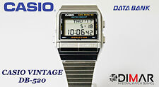 VINTAGE CASIO DB-520 DATA BANK QW.675  TELEMEMO AÑO 1989