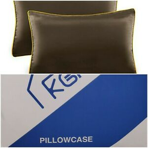 2 Pack Silk Satin Pillowcases Silky Pillow Cases For Hair And Skin Cushion Cover