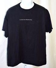 "Apple Store Logo I Visited The Mothership Black XL 44"" Hanes Beefy T Shirt Rare"