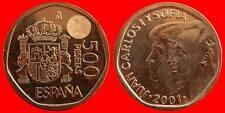 500 PESETAS JUAN CARLOS I 2001 SIN CIRCULAR ES ESPAÑA