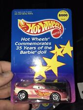 Hot Wheels Barbie Camaro Race Car, Both Variations, Real Riders, Lot