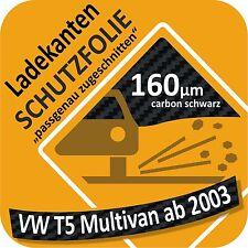 VW T5 Multivan Ladekantenschutz Folie Lackschutzfolie Auto Schutzfolie Carbon