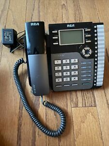 RCA Visys 25204RE1-A Black Business Office Telephone