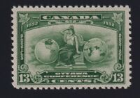 Canada Sc #194 (1932) 13c deep green Ottawa Conference Mint VF NH MNH