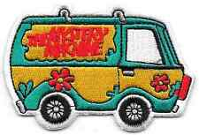 """Scooby Doo Mystery Machine Cartoon Patch 3"""" Long Size New Iron On Embroidered"""