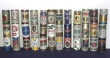 Lot 36 Beer Cans – All Steel – Variety - Opened & Empty