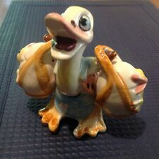 Vintage Ceramic Duck with Ducklings Salt and Pepper Shakers Japan