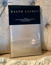 RALPH LAUREN HOME 624 SOLID SATEEN KING SHAM ~ VINTAGE SILVER