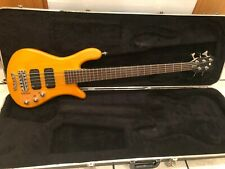 Warwick Streamer 5 String Bass w/ Hard Shell Case
