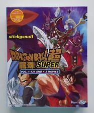 Anime DVD Dragon Ball Super COMPLETE Vol. 1-131 End + 3 Movie ENG SUB All Region