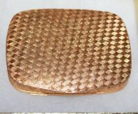 Vintage Compact Gold Tone Made In Italy Beautiful