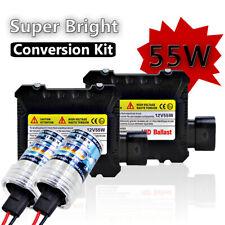 H4 55W 6000K HID Xenon Light Conversion Kit Slim Digital Ballast Headlight