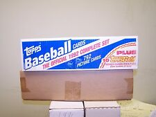 1992 Topps Factory Sealed Baseball Card Set with10 topps gold series cards